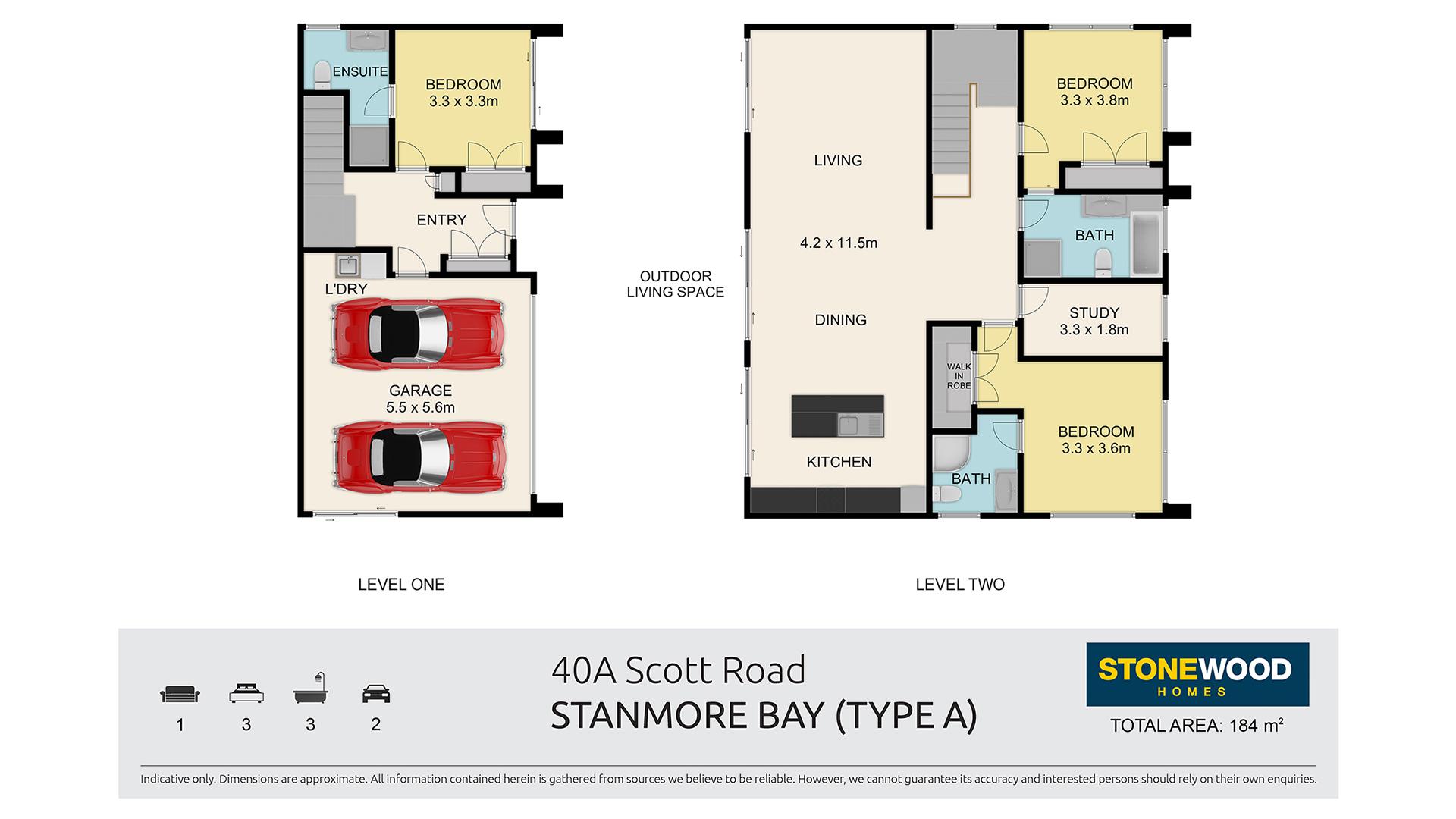 Type A Home blueprint