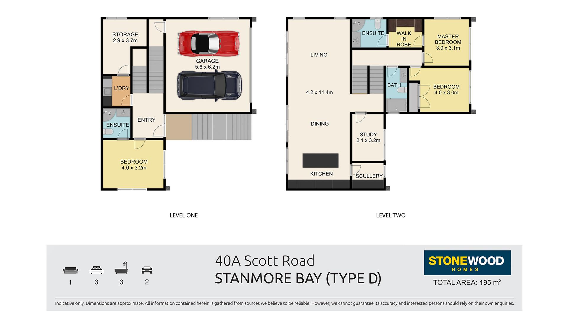 Type D Home blueprint