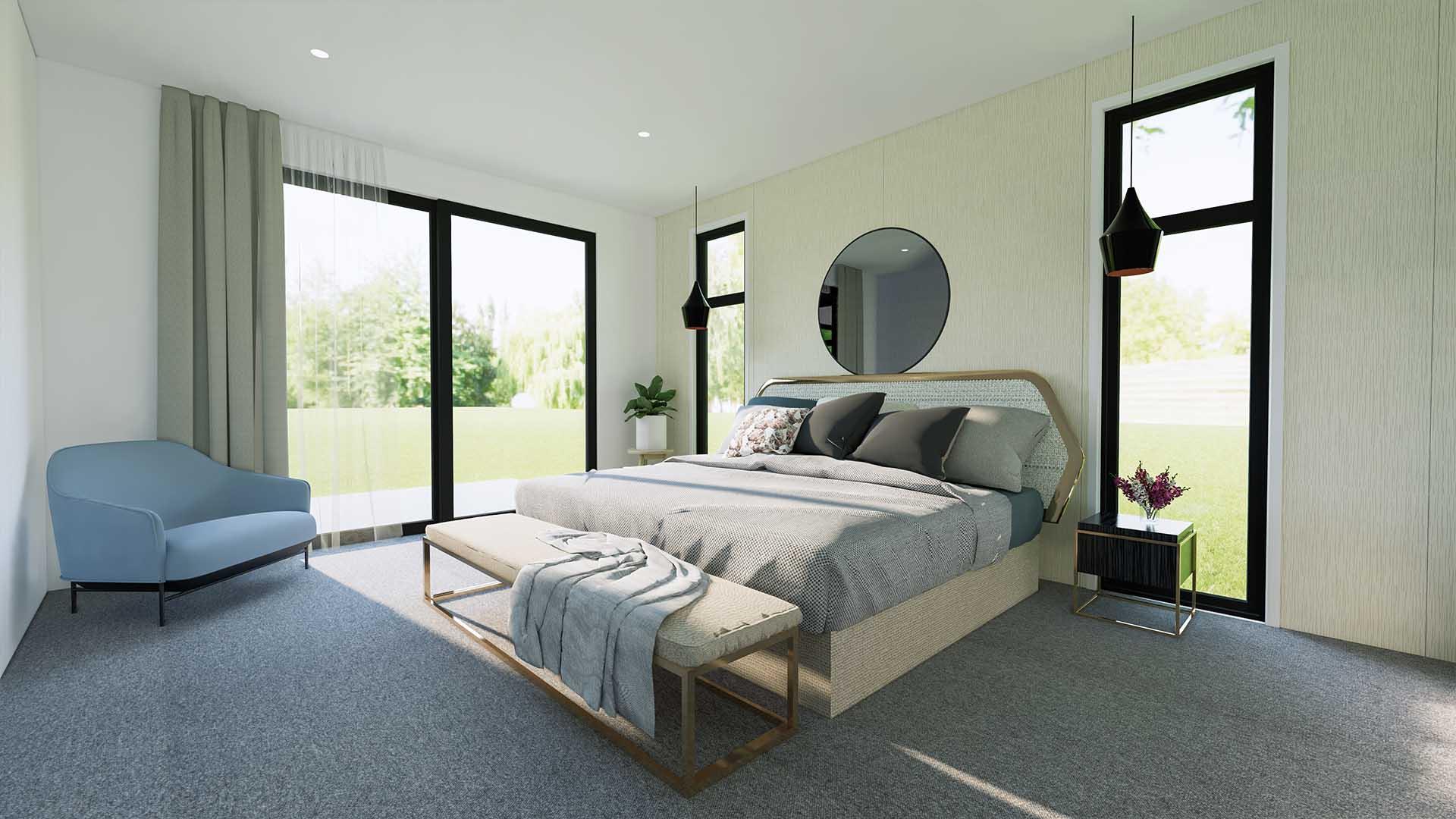 SouthIsland Bedroom